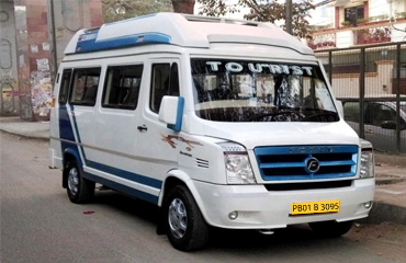 8 Seater Tempo Traveller Hire in Pathankot