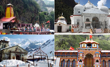 Char Dham Yatra with Pathankot Tour