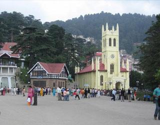 Pathankot to Shimla Tempo Traveller